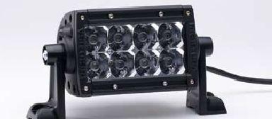 """E-SERIES 4´´ - 2 FILAS de LED 4"""" (10cm)"""