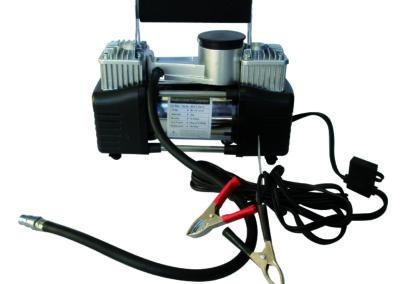 COMPRESOR DE AIRE 2 cilindros 80L/min 150 PSI 12v