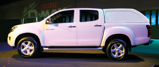 STAR-LUX - ISUZU D-MAX 2012-2017  doble cabina