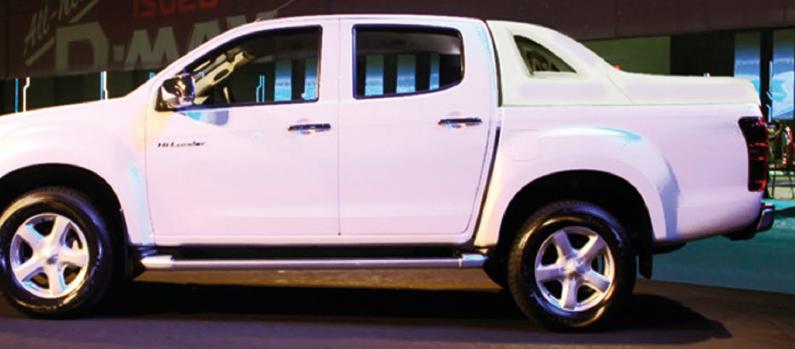 ISUZU D-MAX 2007-2012 X-EVO III