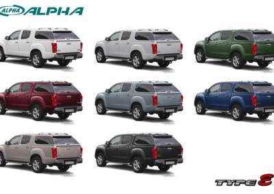 ALPHA TYPE-E+   ISUZU D-MAX (2012- -->)