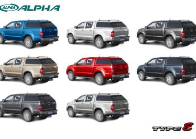 ALPHA TYPE-E - TOYOTA HILUX  (2005-2016)