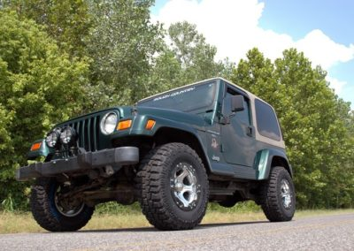 "KIT ROUGH COUNTRY  2,5"" (6,35cm) WRANGLER TJ"
