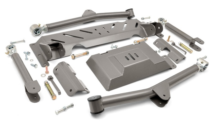 "KIT ROUGH COUNTRY LONG ARM  4,5"" (11,43cm) CHEROKEE XJ"