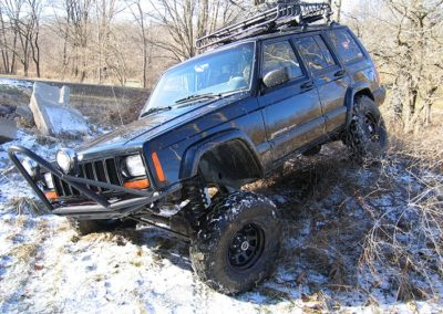 "KIT ROUGH COUNTRY  4,5"" (11,43cm) CHEROKEE XJ"