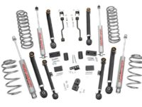"KIT ROUGH COUNTRY X-FLEX  4"" (10,16cm) GRAND CHEROKEE ZJ"