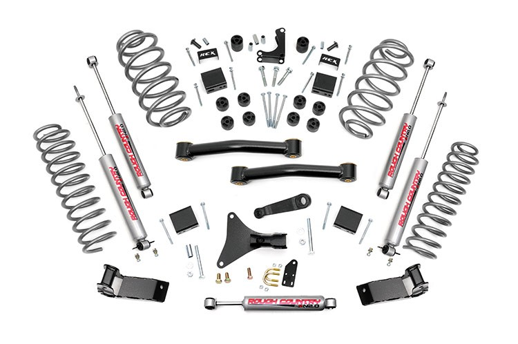 "KIT ROUGH COUNTRY 4"" (10,16cm) GRAND CHEROKEE WJ"