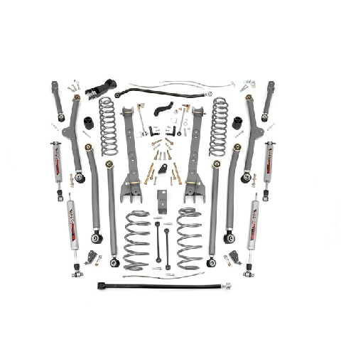 "KIT ROUGH COUNTRY LONG ARM  PRO  4"" (10,16 cm)  WRANGLER TJ"