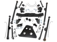 "KIT ROUGH COUNTRY LONG ARM 4""-6"" (10,16-15,24cm) WRANGLER JK"