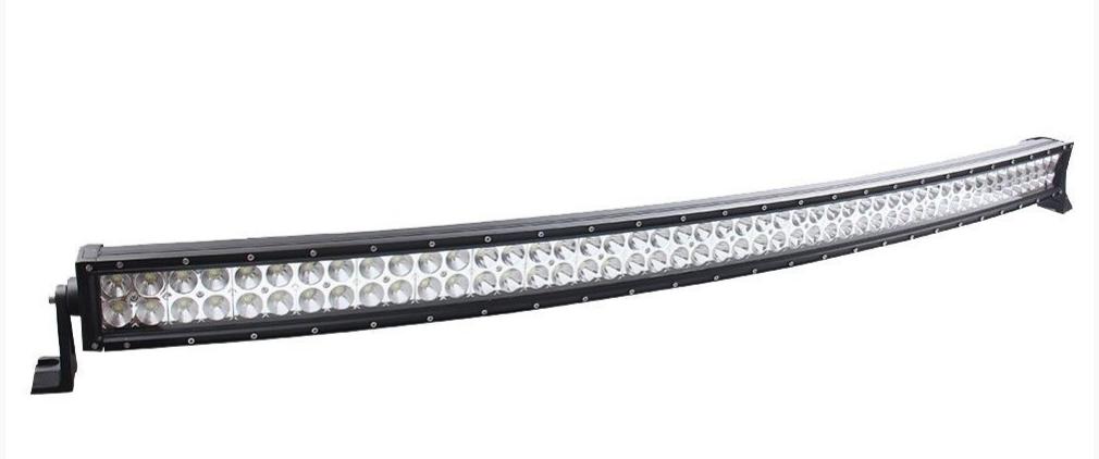 """BARRA LED 50""""   2x48 LED -  288W COMBO CURVA  21120LM"""
