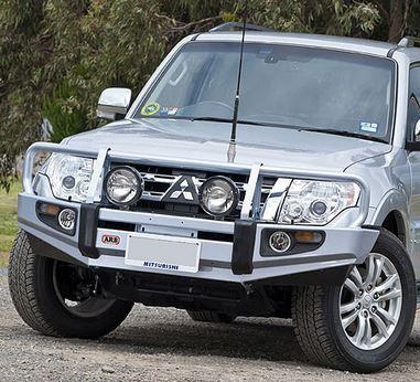 DEFENSA ARB DELANTERA WINCH BAR - V80 (2011-2014)