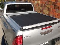 CUBIERTA ENROLLABLE HILUX REVO (2016- ...) - DOBLE CABINA
