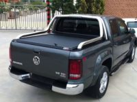 CUBIERTA ENROLLABLE AMAROK CANYON (2010-...) - ACABADO NEGRO MATE - DOBLE CABINA