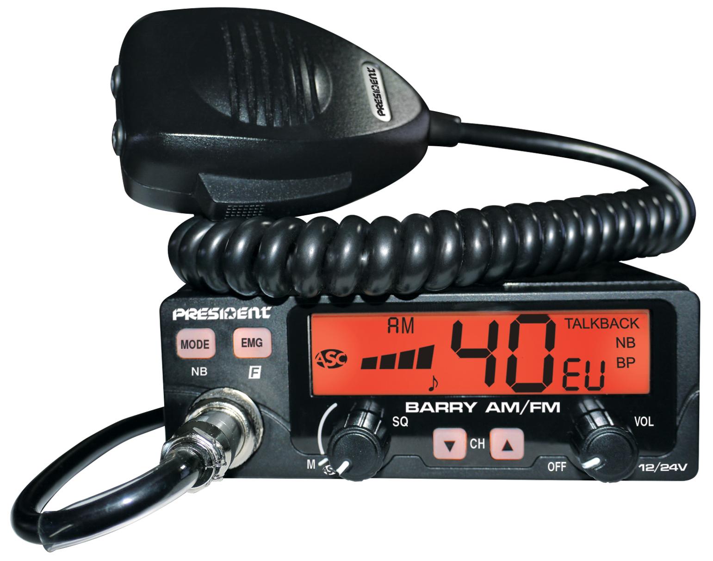 EMISORA PRESIDENT BARRY ASC 40 CX AF/FM 12/24V