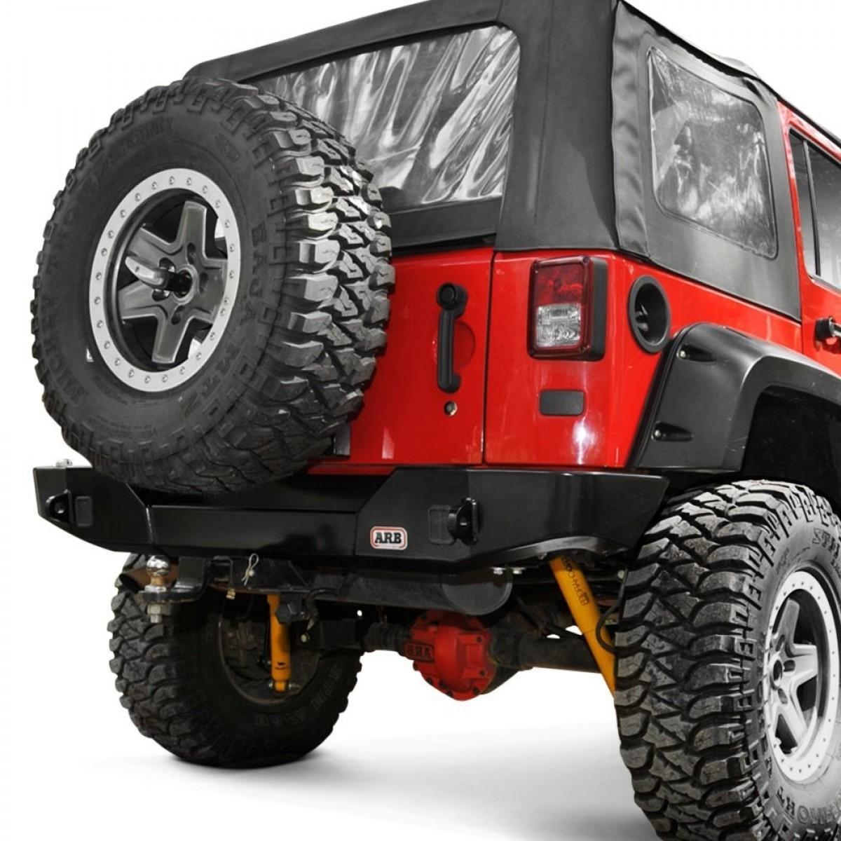 DEFENSA ARB TRASERA Jeep Wrangler JK 07 – A-5650350